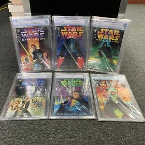 Star Wars Dark Empire 1-6 Full Graded Set CBCS