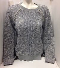 Rebecca Taylor Sweatshirt NWT$375 Small Grey Knit