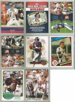 John Elway Denver Broncos Stanford 8 card 2011-2013 lot-all different