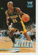 1997-98 Reggie Miller Fleer Tiffany Collection #231 Pacers blue