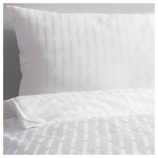 >> IKEA STRANDGYLLEN Bettwäscheset, 2-teilig, Streifen, weiß (003.165.99) >>