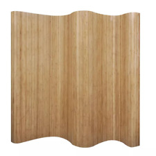 NEW Room Divider Bamboo Natural 250x195 cm