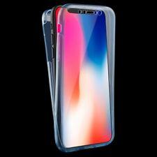 Apple iPhone X / XS Hülle Case Handy Cover Schutz Tasche Schtuzhülle Bumper Blau
