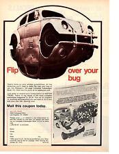 1973 VW / VOLKSWAGEN BEETLE  ~  GREAT CLASSIC AD
