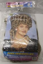 Marie Antoinette Wig Hair Halloween Costume Honey Blonde Curly 2004 Franco NOS