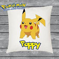 Personalizzata Pokemon Pikachu Copricuscino-Aggiungi il tuo nome-fantastico regalo