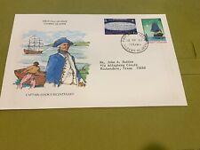 1978 Gilbert Islands FDC Captain Cook  (Folder4085)