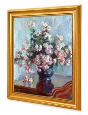DecorArts Chrysanthemums Claude Monet Reproduction  Museum Quality Framed Art