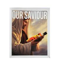 STICKER OUR SAVIOUR BUNDABERG RUM BUNDY BOTTLE BUMPER STICKER FREE POST