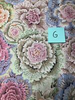Kaffe Fassett Brassica Gray  by FreeSpirit 100% cotton Quilting Fabric BTY