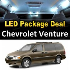 For 2000 - 2005 Chevrolet Venture LED Lights Interior Package Kit WHITE 8PCS