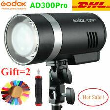 Godox AD300Pro AD300 Pro 2.4G TTL HSS 300Ws Outdoor Speedlite Camera Flash Light