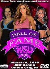 WSU Womens Wrestling - Hall of Fame 2010 DVD Dawn Marie Jazz Molly Holly WWF WWE