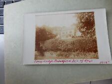 More details for postcard  p7k5 zeppelin message broadford skye  corry lodge 1915