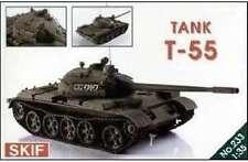 T-55 (EARLY) MAIN BATTLE TANK (SOVIET MKGS)  1/35 SKIF