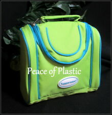 Tupperware ~New~Insulated Kids Lunch Bag Green & Blue