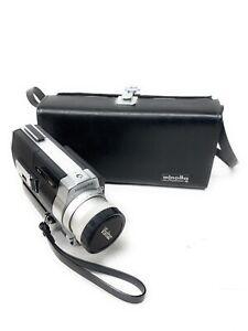 Minolta Autopak-8 D6 Super 8 Film Camera Vintage *Not Tested