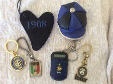 LOTTO 6 PORTACHIAVI VARI ANNI '80 - '90 INTER F.C. INTERNAZIONALE CALCIO - C