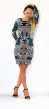 River Island Viscose Paisley Regular Size Dresses for Women