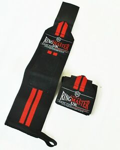 RingMaster WeightLifting Wrist Wrap Gym Support Lift Strap Crossfit Workout