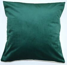 "16"" Laura Ashley 'Marshall Fir' Dark Green fabric cushion cover"