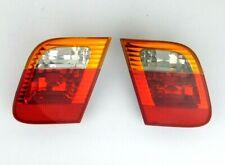 02-05-BMW-E46- 325i 328i inner tail lights assembly lamps 6907946 6907945
