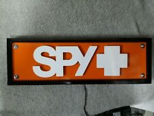 spy ware sunglasses light led display sign custom made one of a kind eye oakley
