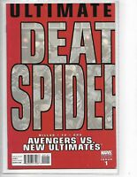 Avengers vs New Ultimates #1 2nd print variant // Death of Ultimate Spider-Man