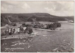 View From Stadsparken, Solleftea, Sweden - Vintage Real Photo Postcard