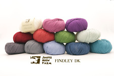 Juniper Moon Farm - Findley Dk 50 Merino / 50 Silk plied 6 Colors