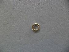 9 Ct Yellow Gold 3 mm HEAVY Open Jump Ring