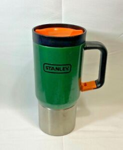 Stanley Stainless Steel Travel Tumbler Cup - Green with Clip-On Handle