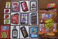 Wacky Packages Old School series 1 Master SET 2010