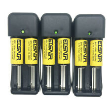 2800Mah Li-ion Battery 16340 CR123 Rechargeable Battery 3.7V +2 Slot charger