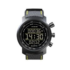 Suunto Elementum Terra n/Black/Yellow Leather Premium ABC Watch SS019997000 NEW