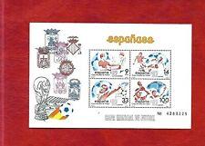 Mini sheet, Spain 1982 World Cup