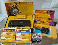 Vintage Kodak Ektralite 10 - 110 Film Camera in Original Box w/ 7 rolls of 110