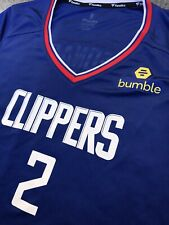 Women's Kawhi Leonard Los Angeles Clippers Jersey NBA Basketball Fanatics S
