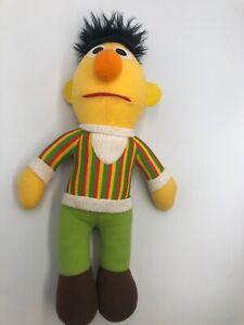 Bert Stuffed Doll Hasbro Softies Preschool Vintage Sesame Street Plush