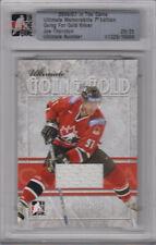 06-07 ITG Ultimate Memorabilia GOING FOR GOLD xx/25 Made! Joe THORNTON - Bruins