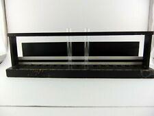 Vintage Black Wood Test Tube Rack used for SSA Urine Protein Test