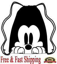 Disney Tote Bags Mickey Peeking Drawstring Bags Original