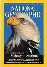 National Geographic July 2002 Nuclear Waste Somalia Civil War Sub Philippines