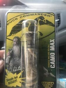 Duck Commander Camo Max Duck Call Double Reed Plastic  - Made In USA