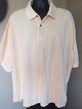 RedHead 2XL Light yellow Polo Shirt Big  Tall XXL heavy weight cotton,2 button