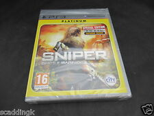 Sony Playstation 3 PS3 juego Sniper Ghost Warrior-sellado, pero vuelva a cerrarla
