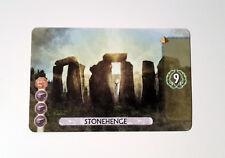 ● * * 7 Wonders Duel * * ● PROMO ✩ Stonehenge ✩ NEUF ✔ ツ manger 2017