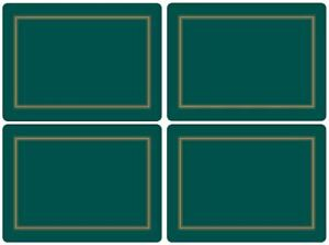 Pimpernel Placemats, Classic Emerald, Set of 4 (2010648044)
