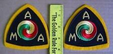 Pair of American Motorcycle Assn. (A.M.A.) Patches