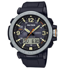 Brand New Casio Men's 'PRO TREK' Japanese Quartz Resin Strap Watch PRG-600-1CR